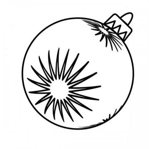 20 Desenhos De Bolas De Natal Para Colorir E Imprimir Bolas De