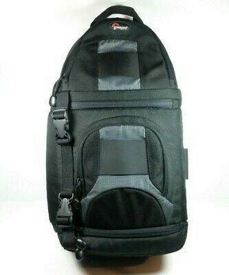 Ad Lowepro Slingshot 100 Aw Dslr Camera Padded Sling Shot Backpack Bag In 2020 Camera Sling Bag Backpack Bags Camera Sling