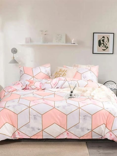 Geometric Pattern Bedding Set Without Filler Patterned Bedding Sets Room Ideas Bedroom Bedroom Decor Design