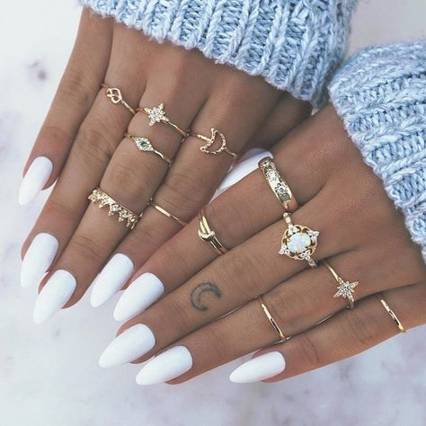 Cute Nails, Pretty Nails, Gel Nails, Manicure, Coffin Nails, Toenails, Smiley Piercing, Piercings, Accesorios Casual