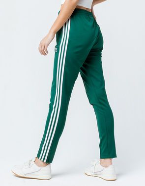 2865c6cd5d23 ADIDAS SST Green Womens Track Pants | Clothez in 2019 | Green adidas ...