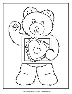 Hello Kitty Valentines Day Coloring Pages  Hello Kitty Coloring