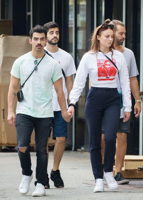 Joe Jonas and Sophie Turner in 2017