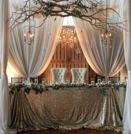 Wedding Backdrop Reception Head Table Draping Bridal Parties 37 Ideas Wedding Reception Backdrop Head Table Wedding Backdrop Reception Head Table