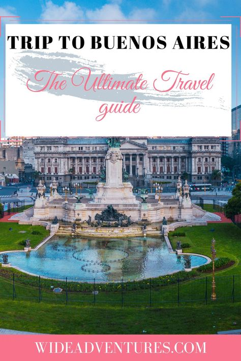 Whether you are here for a full-on sightseeing excursion or just to have a good time, there are plenty of options available. #BuenosAires #Travel #Traveltips #Adventure #Thingstodo #Exploringtheglobe
