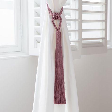 Vorhanghalter In Rosa Vorhange Schlafen Zara Home
