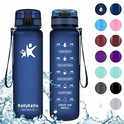 Advertisement Ebay Kollykolla Sports Water Bottles 1000ml 32oz M Dark Blue Sport Water Bottle Reusable Plastic Water Bottles Bottle