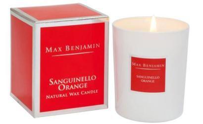 190 g Max Benjamin Bougie Parfumée Classic White Pomegranate