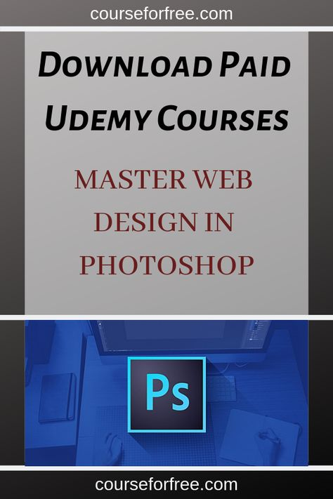 Learn how to create stunning website designs in Photoshop