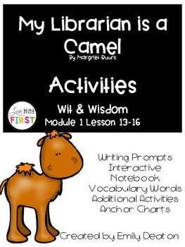 This Is A Packet Of Activities To Go Along With The Wit And Wisdom Curriculum Fo Wit And Wisdom Vocabulary Interactive Notebook Interactive Notebook Activities