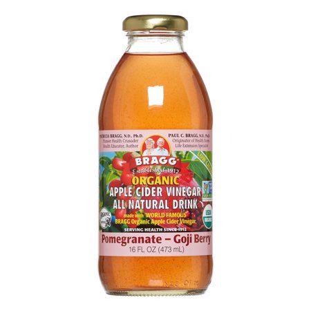 Bragg Organic Apple Cider Vinegar Pomegranate Goji Berry All