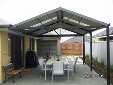 Cool Patio Dach Decken Ideen Garten Carport Terrasse Terrassendach Terassenentwurf