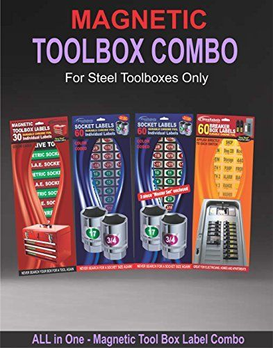 Magnetic Tool Box Label Combo Deal Adjustable Label For The Professional Mechanic This Lot Contains Magnetic Toolbox Lab Tool Box Magnetic Tools Breaker Box