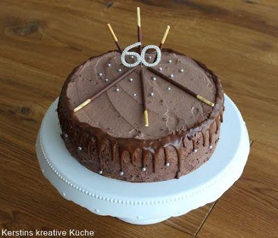 Kerstins Kreative Kuche Schokoladen Sahne Traum Schokoladen Sahne Torte Schokoladensahnetorte Und Kuchen Und Torten