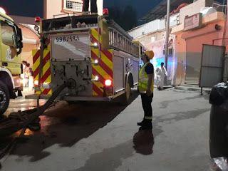 حريق يودي بحياة طفلة ويصيب والديها في الأحساء تسبب حريق شب في غرفة بمبنى في قرية
