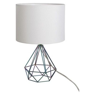 Find Product Information Ratings And Reviews For Entenza Wire Table Lamp Project 62 Online On Target Com Geometric Table Lamp Geometric Table Table Lamp