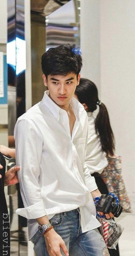 Beautiful Boys, Pretty Boys, Cute Boys, Hot Asian Men, Asian Boys, Dream Boy, Thai Drama, Thai Style, Man Crush