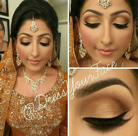 SOFT LOOK FOR MEHNDI/SANGEET dressyourface