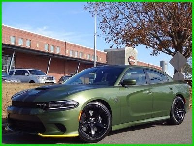 2018 Dodge Charger 2018 Dodge Charger Srt Hellcat Green Stripes