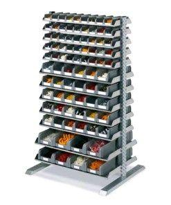 Scaffali Per Minuteria.Scaffale Bifronte Porta Cassette Minuteria Materiale