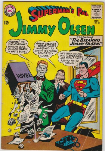 Jimmy Olsen 80 1964 Vg Jimmy Olsen Comic Books Comics For Sale