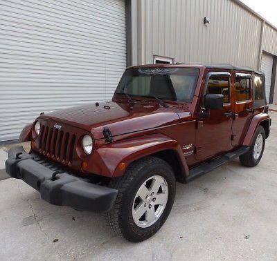 Ebay 2007 Jeep Wrangler Unlimited Sahara Suv 3 8l V6 Auto