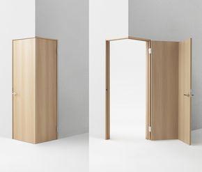 四角いだけがすべてじゃない ドアを リ デザイン してみた 部屋のアイデア ドア 部屋のアイデア デザイン