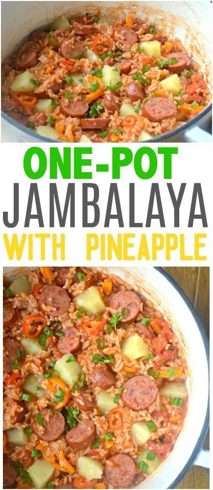 One Pot Jambalaya Recipe Jambalaya Jambalaya Recipe One Pot
