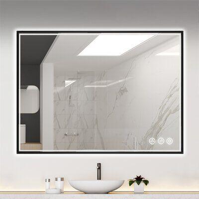 Led Mirror Bathroom Remodel, 36 X 48 Bathroom Mirror