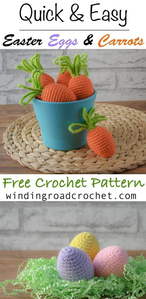 Easter Egg Cozies - Winding Road Crochet EASTER EGG COZIES Colorful, whimsical and fun- The Easter Egg cozies can transform cheap plastic Easter eggs into lovely little yarny treasures that you will save and reuse every year. Plastic Easter Eggs, Easter Egg Crafts, Easter Projects, Easter Decor, Crochet Food, Crochet Bunny, Cute Crochet, Crochet Flowers, Crochet Egg Cozy