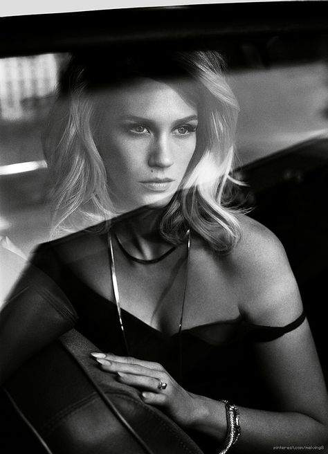 January Jones by Vincent Peters for Vogue Italia 2014
