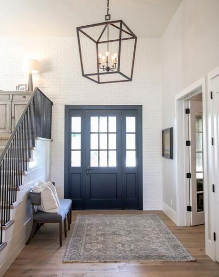 farmhouse foyer chandelier light