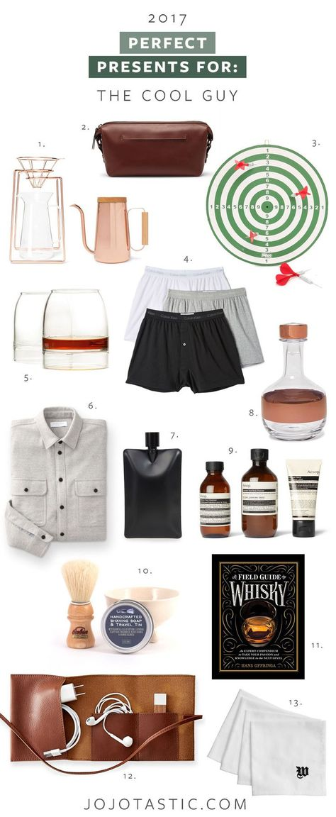 Perfect Presents For The Cool Guy Birthday Presents For Men