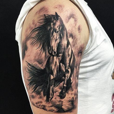 @tattooline #ink #art #artink #arttattoo #horsetattoo