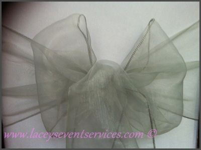 Organza Sashes And Bows Hire For Wedding Chair Covers Laceys