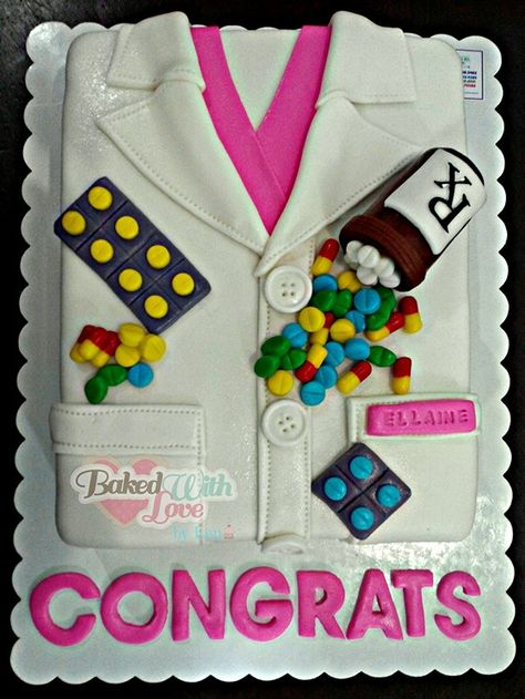 Pharmacist Themed Cake