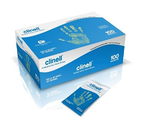 Clinell Antibacterial Hand Wipes In 2020 Wipes Box Wet Wipe