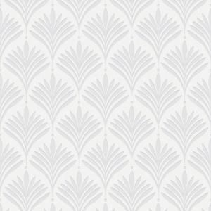 Graham Brown Bonnie Geo White Wallpaper Sample 10411794 The Home Depot White And Silver Wallpaper Wall Wallpaper Removable Wallpaper