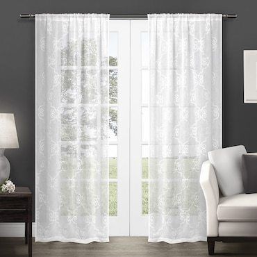 The Best Types Of Fabric Curtains For Your Home Overstock Com White Paneling Home Curtains Curtains