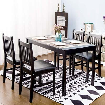 4 Person Dining Table Dining Room Sets Dining Chair Set Garden