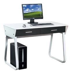 Scrivania Per Computer Bianco.Scrivania Per Computer Mira Design Geometrico Con 2 Grandi