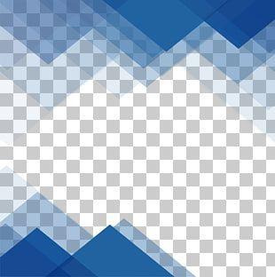 Blue Triangular Border Blue Wave Png Clipart Blue Waves Clip Art Rooster Illustration