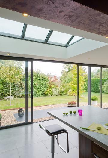Veranda cuisine, faire cuisine dans une véranda Concept Alu - cuisine dans veranda photo