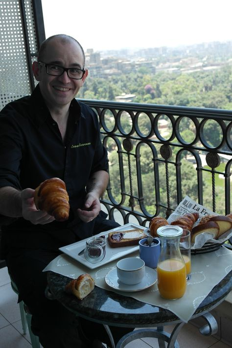 Meet Chef Erwan from La Gourmandise Restaurant in Cairo #French #Best