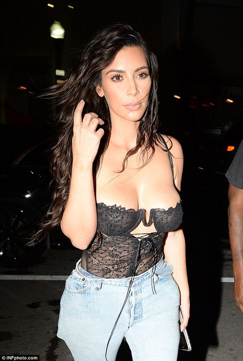 Kim Kardashian poses completely naked in racy selfies on