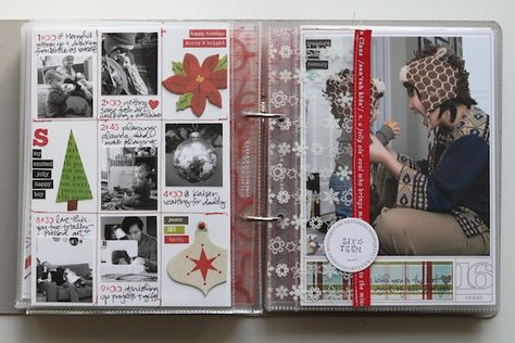 love her scrapbooking style