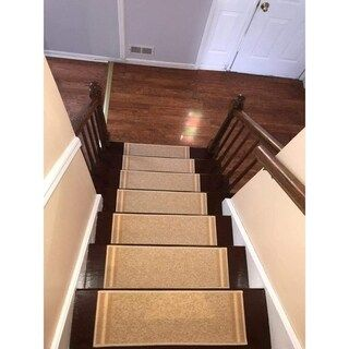 Online Shopping Bedding Furniture Electronics Jewelry | Braided Stair Treads With Rubber Backing | Non Slip | Skid Resistant | Anti Slip | Heritage Farms | Slip Resistant