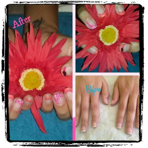 Bio sculpture summer nails