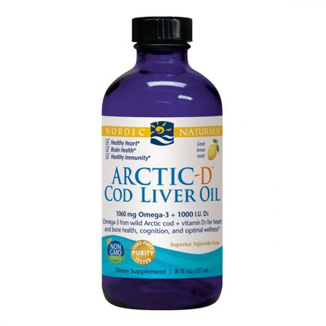 Pain, mood, and immune health may all seem to be unrelated, but studies show that cod liver oil may be able to help all three!  Nordic Naturals Arctic-D Cod Liver Oil gives you a lemon-flavored solution so you can skip the fishy burps while getting your support and an extra dose of Vitamin D!  #CountryVitamins #FishOil #CodLiverOil #Mood #LemonFlavored #Depression #Anxiety #Stress #Pain #Inflammation #Inflammatory #VitaminD #ImmuneHealth #Sniffles #ColdandFlu #AchesandPains