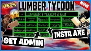 New Roblox Hack Lumber Tycoon Gui Unlimited Money Sell Wood